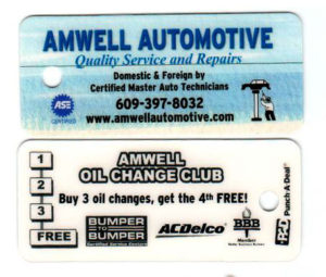 Amwell Automotive Punch Card